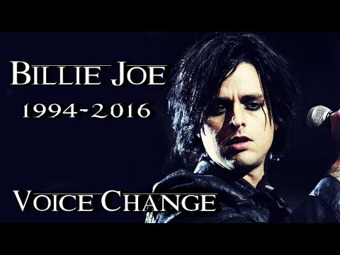BILLIE JOE VOICE CHANGE 1994-2016