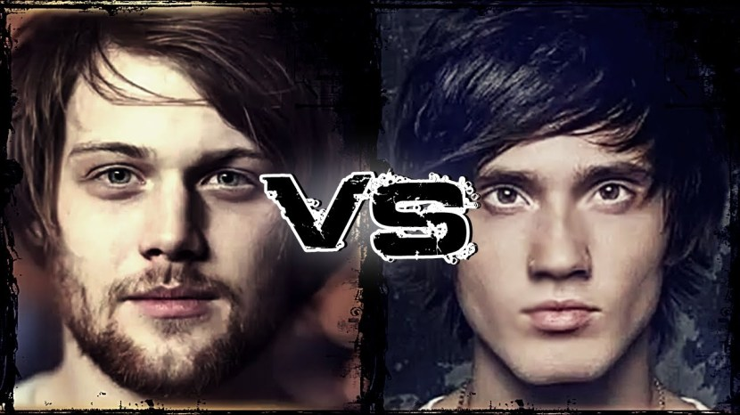 Danny Worsnop VS Denis Shaforostov.