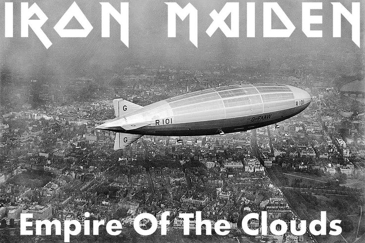 "IRON MAIDEN lanzan ""Empire Of The Clouds"" en Vinilo Picture Disc"