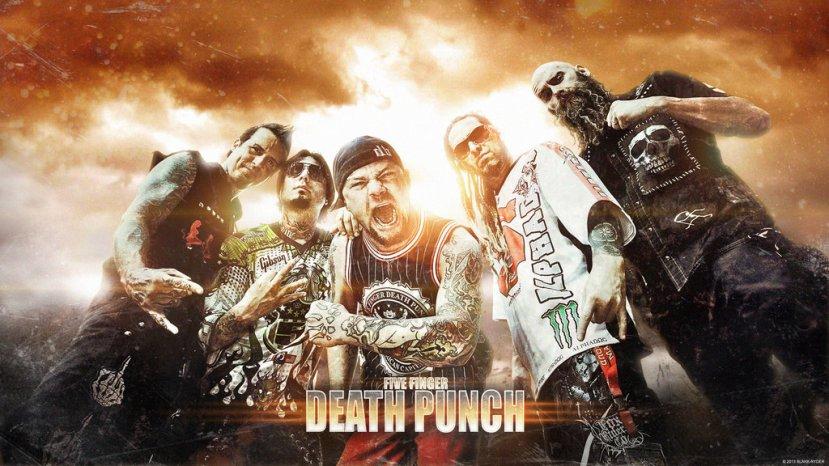 ¿Sabias Que…? Five Finger DeathPunch.