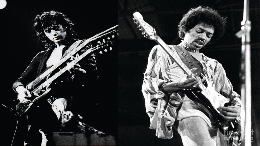 JIMI HENDRIX VS JIMMY PAGE.