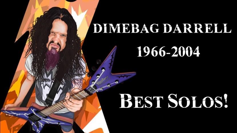 PANTERA: DIMEBAG DARRELL BEST SOLOS (RIP1966-2004)