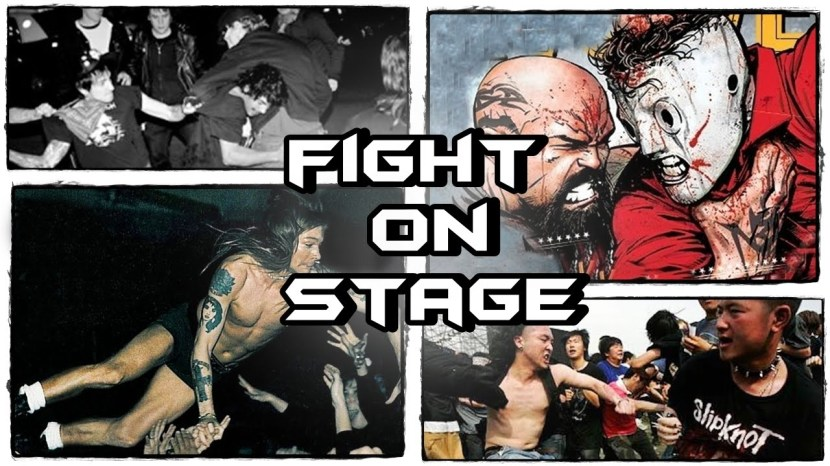 Metal / Rock Bands Fights On Stage! PART 2