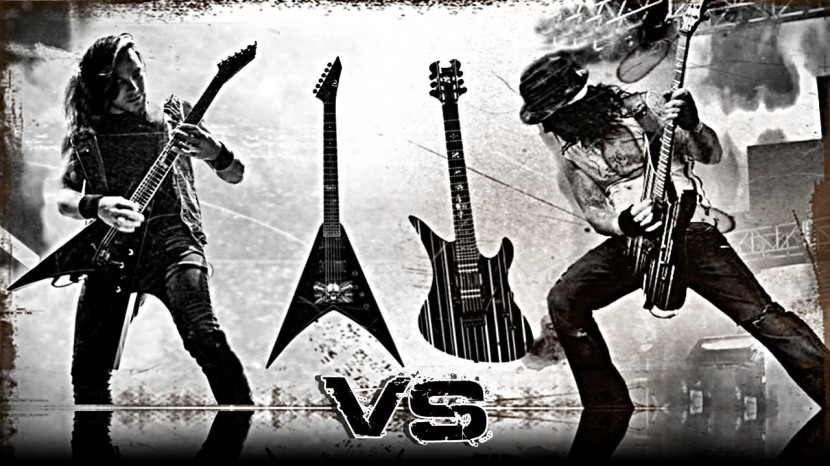 Synyster Gates Vs Michael Paget.