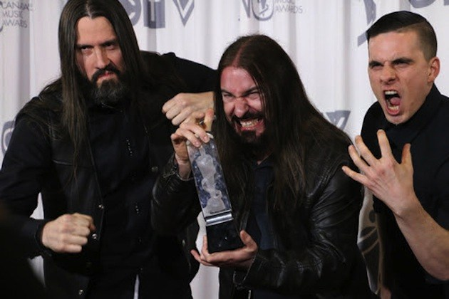Kataklysm Gana premio por 'Heavy Metal Album of the Year'