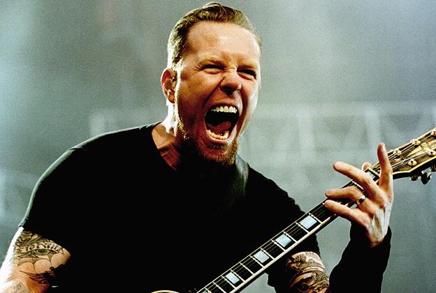 Corrosion of Conformity y James Hetfield de Metallica en el Fox Theatre inOakland.