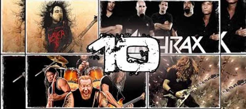 TOP 10 THRASH METAL BAND.