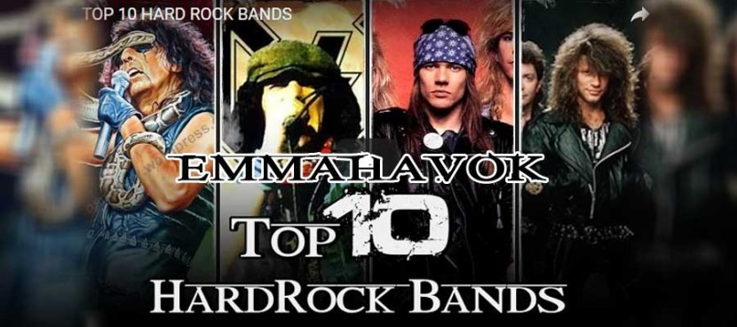 TOP 10 HARD ROCK BANDS