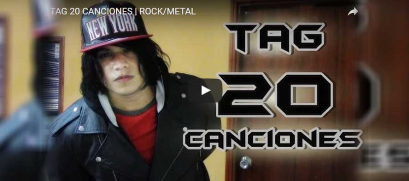 TAG 20 CANCIONES | ROCK/METAL | EmmaHAvok
